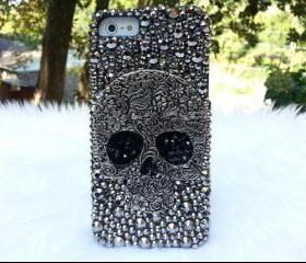 Skull Iphone 4 case, Iphone 4S case, Iphone 4 Case, Iphone 4S Case, Skull Iphone Case