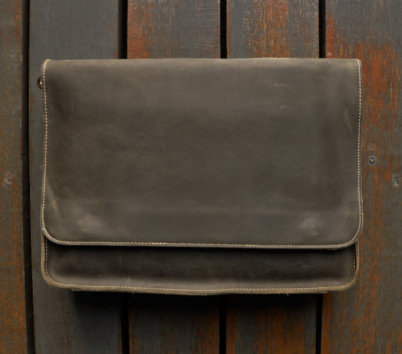 Leather 13 Inch Laptop Bag
